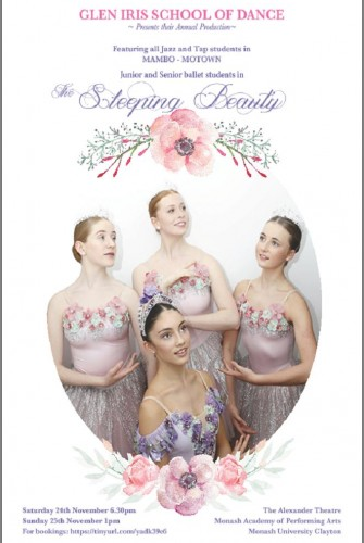 2018 – Glen Iris School of Dance <br>Sleeping Beauty