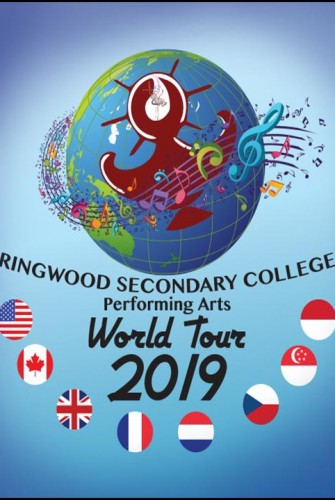 2019 – Ringwood Secondary College <br>World Tour 2019