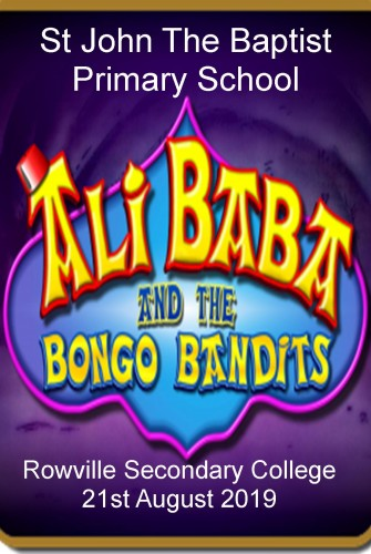 2019 – St John The Baptist Primary School <br>Ali Baba and the Bongo Bandits <br>