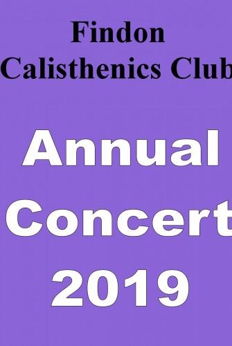 2019 – Findon Calisthenics Club <br>Annual Concert 2019